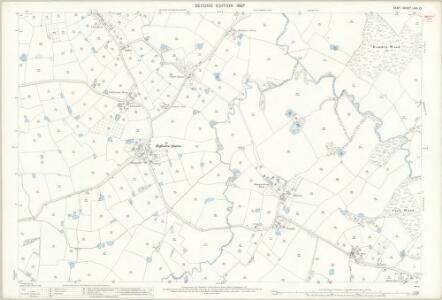 Kent LXIII.12 (includes: Bethersden; Smarden) - 25 Inch Map