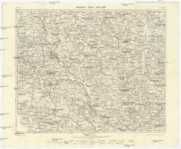 Podrobná mapa Šumavy