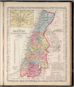 Palestine & Adjacent Countries.