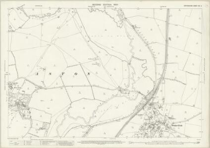 Oxfordshire XVI.6 (includes: Deddington; North Aston; Somerton; Souldern) - 25 Inch Map