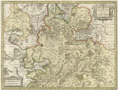 Lotharingia Septentrionalis Loraine vers le Seption.