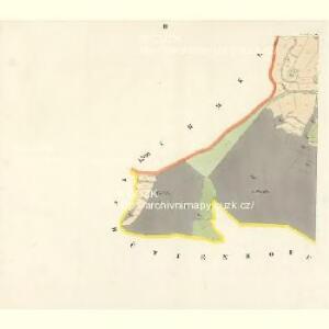 Gross Chmelna (Welka Chmelna) - c8394-1-002 - Kaiserpflichtexemplar der Landkarten des stabilen Katasters