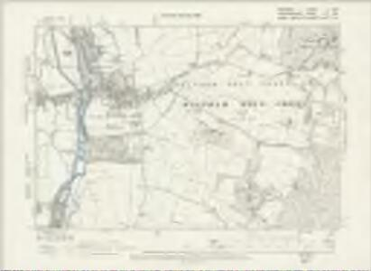 Middlesex III.SW - OS Six-Inch Map