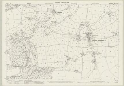 Devon CXI.8 (includes: Bere Ferrers; Buckland Monachorum; Tavistock Hamlets) - 25 Inch Map