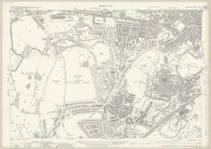 Lancashire CVII.4 (includes: Eccleston; St Helens) - 25 Inch Map