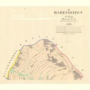 Rabenseifen - m0871-1-001 - Kaiserpflichtexemplar der Landkarten des stabilen Katasters