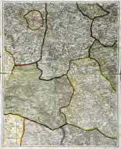 Karte vom Kriegestheater der vereinigten preussischen und östreichischen Armeen in Frankreich in VI. Blättern, [Blatt 7 und 10]