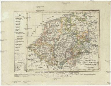 Nordwestliches Deutschland, Niederlande und Belgien