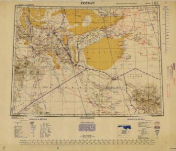 Africa  1:2.000.000, Fezzan
