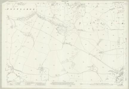 Gloucestershire XX.6 (includes: Prescott; Southam; Winchcombe) - 25 Inch Map