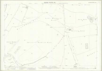 Wiltshire XLV.9 (includes: Bratton; Upton Scudamore; Warminster; Westbury) - 25 Inch Map