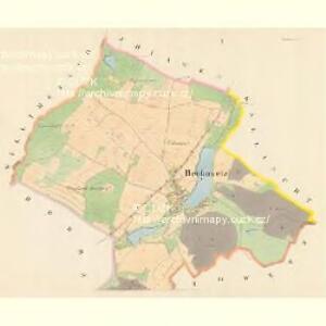 Begkowetz - m0307-1-001 - Kaiserpflichtexemplar der Landkarten des stabilen Katasters