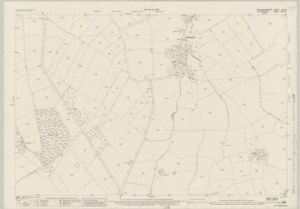 Buckinghamshire XXVI.8 (includes: Piddington) - 25 Inch Map