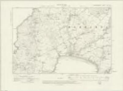 Caernarvonshire XLIII.SE - OS Six-Inch Map