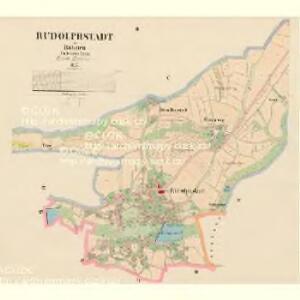 Rudolphstadt - c6617-1-002 - Kaiserpflichtexemplar der Landkarten des stabilen Katasters