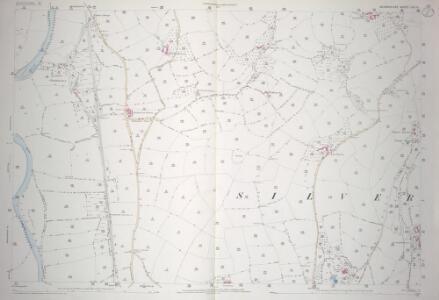 Devon LVI.11 (includes: Bickleigh; Rewe; Silverton; Thorverton) - 25 Inch Map
