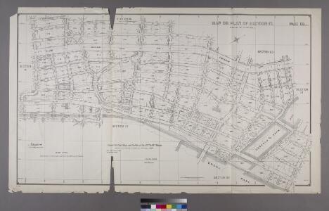 Map or Plan of Section 17. [Bounded by Walton Avenue, Fordham Road, Morris Avenue, E. 196th Street, Creston Avenue, E. 198th Street, Grand Boulevard and Concourse, E. 204th Street, Mosholu Parkway South, Bainbridge Avenue, Woodlawn Road, Webster Avenuean