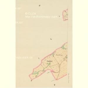 Klein Aurzim (Maly Auřim) - c4462-1-004 - Kaiserpflichtexemplar der Landkarten des stabilen Katasters