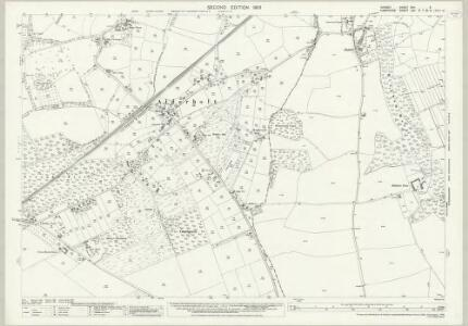 Dorset XVII.5 (includes: Alderholt; Fordingbridge) - 25 Inch Map