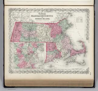 Massachusetts and Rhode Island, Vicinity of Boston.