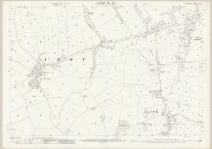 Cheshire XIII.13 (includes: Barnston; Birkenhead St Mary; Irby; Pensby; Thurstaston) - 25 Inch Map