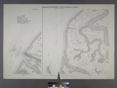 Sheet Nos. 5 & 12. [Sheet No. 5. Includes New York and New Jersey Boundary Line, and,(Fresh Kills Island of Meadow). - Sheet No. 12. Includes Buckwheat Island and Marks Creek.]; Borough of Richmond, Topographical Survey.