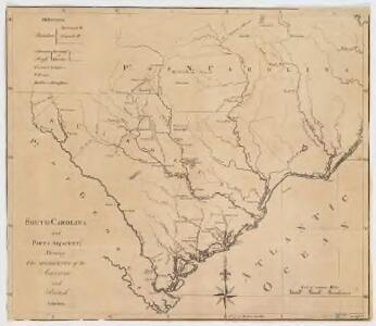 South-Carolina and parts adjacent : shewing the movements of the American and British armies