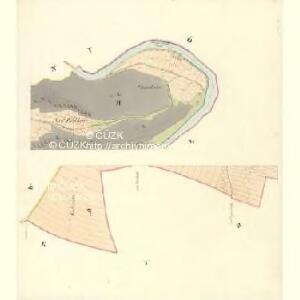 Höslowitz - m2179-1-002 - Kaiserpflichtexemplar der Landkarten des stabilen Katasters