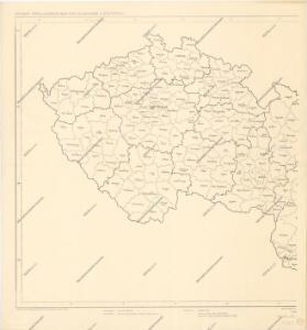 Soubor přehledných map pro plánování a statistiku – č. 3. ČSR