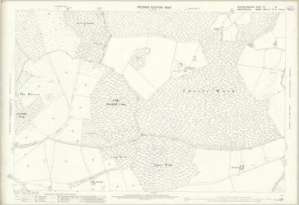 Buckinghamshire XV.16 (includes: Aspley Heath; Bow Brickhill; Little Brickhill; Woburn) - 25 Inch Map