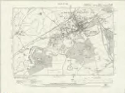 Shropshire XVI.NW - OS Six-Inch Map
