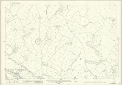 Monmouthshire XXIX.1 (includes: Caerleon; Llanfrechfa Lower; Llanhennock Fawr) - 25 Inch Map
