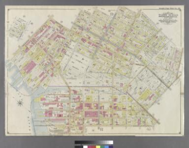Part of Wards 14, 15 & 17. Land Map Sections, No. 8 & 9, Volume 1, Brooklyn Borough, New York City.