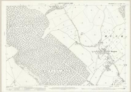 Lincolnshire LVI.15 (includes: Burwell; Haugham; Legbourne; Little Cawthorpe; Muckton) - 25 Inch Map