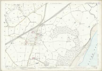Gloucestershire LIV.11 (includes: Aust; Oldbury upon Severn; Tidenham) - 25 Inch Map