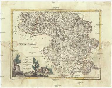 Il Friuli colla Carnia e Cadorino di nuova projezione