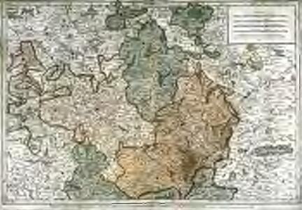 Partie septentrionale du duché et gouvernement general de Bourgogne