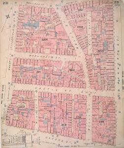 Insurance Plan of London Vol. IX: sheet 231