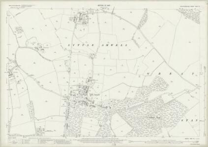 Hertfordshire XXIX.16 (includes: Brickendon Liberty; Great Amwell; Hertford; Little Amwell; Stanstead St Margaret; Ware Urban) - 25 Inch Map
