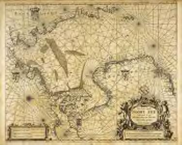 Pas caart van de Noort Zee