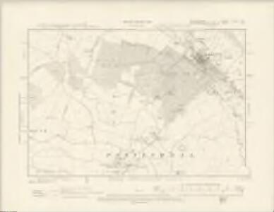 Bedfordshire V.NW & NE - OS Six-Inch Map