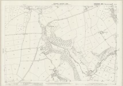 Pembrokeshire II.16 (includes: Bridell; Cardigan; Llantwyd) - 25 Inch Map