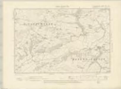 Cardiganshire XXVI.NW - OS Six-Inch Map