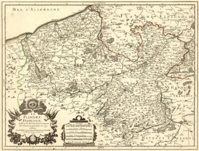 La Flandre Françoise, dreßée sur les Memoires les plus nouueaux