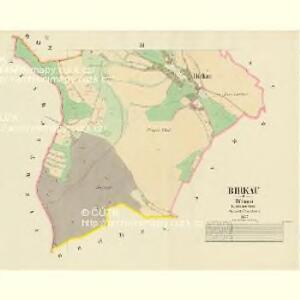 Birkau - c0564-1-002 - Kaiserpflichtexemplar der Landkarten des stabilen Katasters