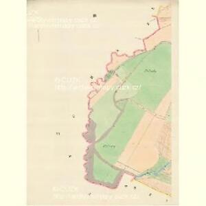 Moschtienitz - m0803-1-003 - Kaiserpflichtexemplar der Landkarten des stabilen Katasters