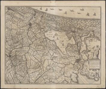 Rhinolandiae, Amstelandiae, et circumjacent. aliquot territoriorũ, accurata desc.