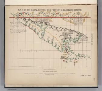 Early Spanish Map of Guiana.