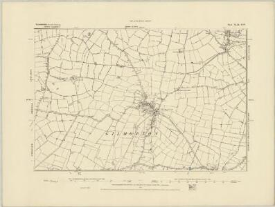 Leicestershire XLIX.SE - OS Six-Inch Map