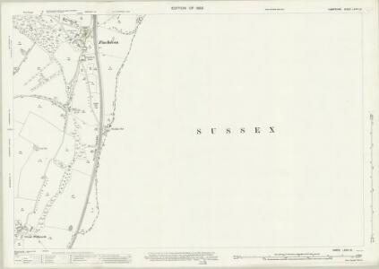 Hampshire and Isle of Wight LXVIII.12 (includes: Compton; Rowlands Castle; Stoughton) - 25 Inch Map